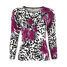 Buy Precis Petite Abstract Floral Cardigan, Multi Online at johnlewis.com