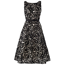 Buy Phase Eight Napoli Dress, Black/Oyster Online at johnlewis.com