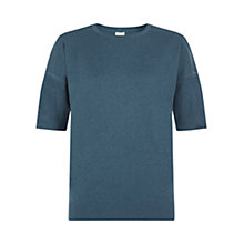 Buy NW3 by Hobbs Jamie Top, Teal Online at johnlewis.com