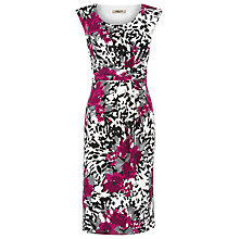 Buy Precis Petite Abstract Floral Dress, Multi Online at johnlewis.com