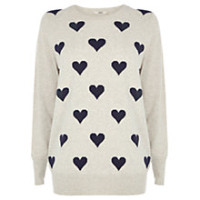 Buy Oasis The Juliette Knit, Mid Neutral Online at johnlewis.com