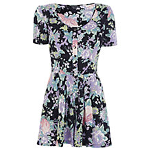 Buy Warehouse Vintage Floral Playsuit, Multi Online at johnlewis.com