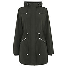 Buy Oasis Hollie Parka, Khaki Online at johnlewis.com