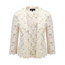 Buy Viyella Lace Jacket, Cream Online at johnlewis.com