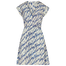 Buy Reiss Crawford Dress, Light Blue Online at johnlewis.com