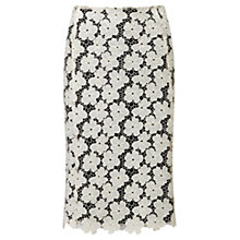 Buy Viyella Lace Skirt, Cream Online at johnlewis.com