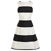 Buy Coast Monochrome Ellie May Dress, Black/White Online at johnlewis.com