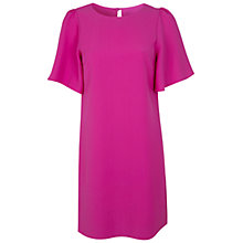 Buy Miss Selfridge Sleeve Dress, Pink Online at johnlewis.com