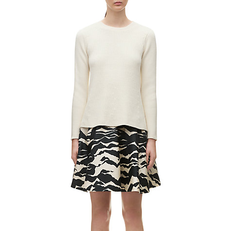 Buy Whistles Misty Trapeze Jumper, Ivory Online at johnlewis.com