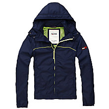 Buy Hilfiger Denim Don Hooded Jacket, Navy Online at johnlewis.com