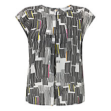 Buy COLLECTION by John Lewis Pleat Top, Multi Online at johnlewis.com