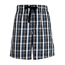 Buy John Lewis Woven Cotton Lounge Shorts Online at johnlewis.com