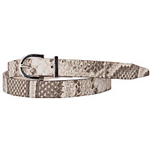 Buy French Connection Ava Belt, Brown Online at johnlewis.com