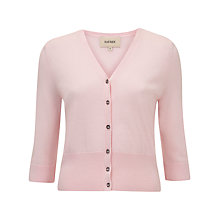 Buy Havren V-Neck Cardigan, Sugar Pink Online at johnlewis.com
