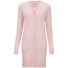 Buy Havren Cargo Pocket Cardigan, Sugar Pink Online at johnlewis.com