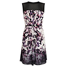 Buy Coast Sonya Printed Dress, Black Multi Online at johnlewis.com