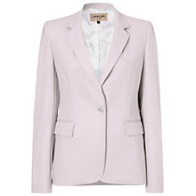 Buy Jaeger Compact Tuxedo Jacket, Shell Pink Online at johnlewis.com