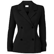 Buy Almari Double Breasted Jacket, Black Online at johnlewis.com