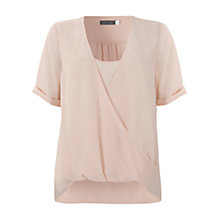 Buy Mint Velvet Wrap Top Online at johnlewis.com