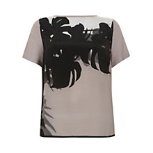 Buy Mint Velvet Paige Print Top, Multi Online at johnlewis.com