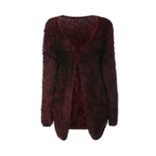 Buy True Decadence Soft Touch Cardigan, Burgandy Online at johnlewis.com