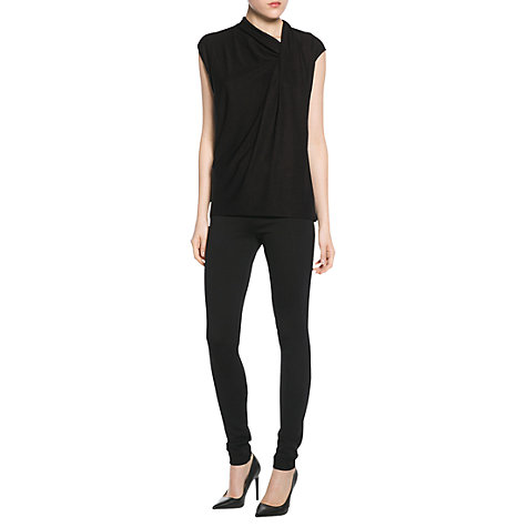 Buy Mango Button Detail Leggings Online at johnlewis.com
