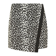 Buy Mint Velvet Leopard Mini Skirt, Multi Online at johnlewis.com