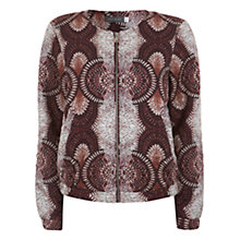 Buy Mint Velvet Ellie Quilted Bomber Jacket, Multi Online at johnlewis.com