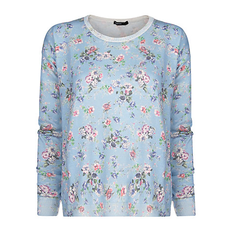 Buy Mango Floral Printed Jumper Online at johnlewis.com