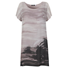 Buy Mint Velvet Alba Print T-Shirt Dress, Multi Online at johnlewis.com