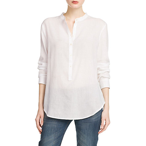 Buy Mango Mao Collar Blouse Online at johnlewis.com