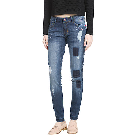 Buy Mango Super Slim-Fit Arizona Jeans Online at johnlewis.com
