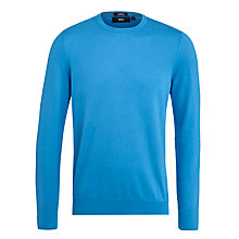 Buy BOSS Jono Cotton Silk Jumper Online at johnlewis.com