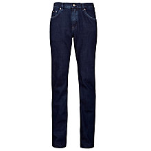 Buy BOSS Maine 5-Pocket Jeans, Dark Blue Online at johnlewis.com