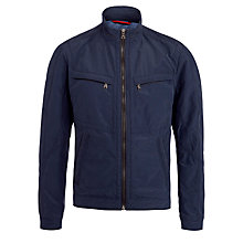 Buy BOSS Capontz Outdoor Jacket, Navy Online at johnlewis.com