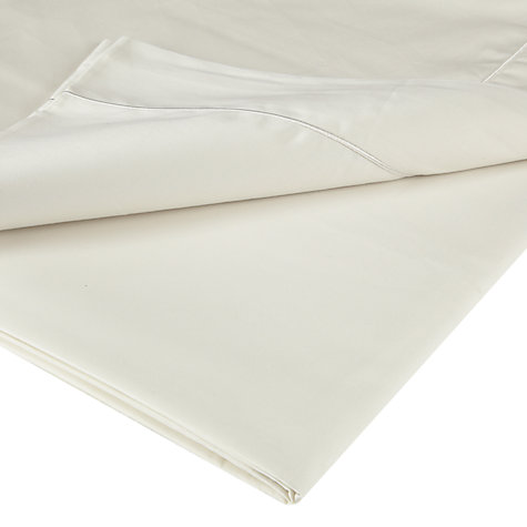 Buy John Lewis Soft & Silky Egyptian Cotton 400 Thread Count Flat Sheets Online at johnlewis.com
