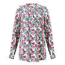 Buy John Lewis Capsule Collection Printed Dobby Blouse, Multi Online at johnlewis.com