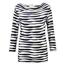 Buy John Lewis Capsule Collection Wavy Line Top Online at johnlewis.com