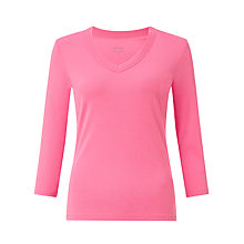 Buy John Lewis V-Neck Triple Trim Top Online at johnlewis.com