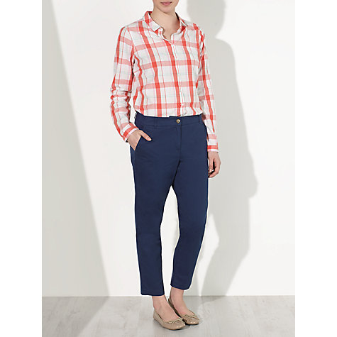 Buy Collection WEEKEND by John Lewis Cotton Chinos, Navy Online at johnlewis.com