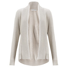Buy John Lewis Capsule Collection Edge to Edge Cardigan, Neutral Online at johnlewis.com