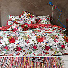 Buy PiP Studio Flowers Duvet Cover and Pillowcase Set Online at johnlewis.com