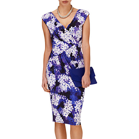 Buy Phase Eight Milano Tess Dress, Violet Online at johnlewis.com