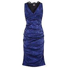 Buy Phase Eight Portafino Dress, Sapphire Online at johnlewis.com