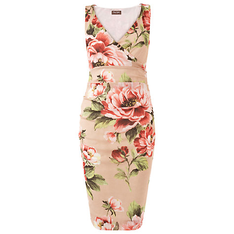 Buy Phase Eight Rosetta Dress, Cameo Online at johnlewis.com