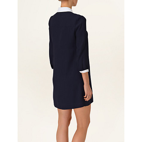 Buy Phase Eight Penelope Dress, Navy/Ivory Online at johnlewis.com