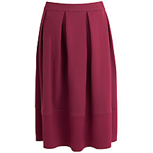Buy Closet Pleat Skirt, Pink Online at johnlewis.com