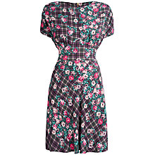 Buy Closet Multi Check Floral Dress, Multi Online at johnlewis.com