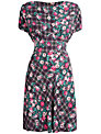 Closet Multi Check Floral Dress, Multi