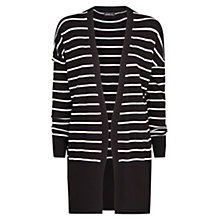 Buy Mango Monochrome Striped Cardigan Online at johnlewis.com